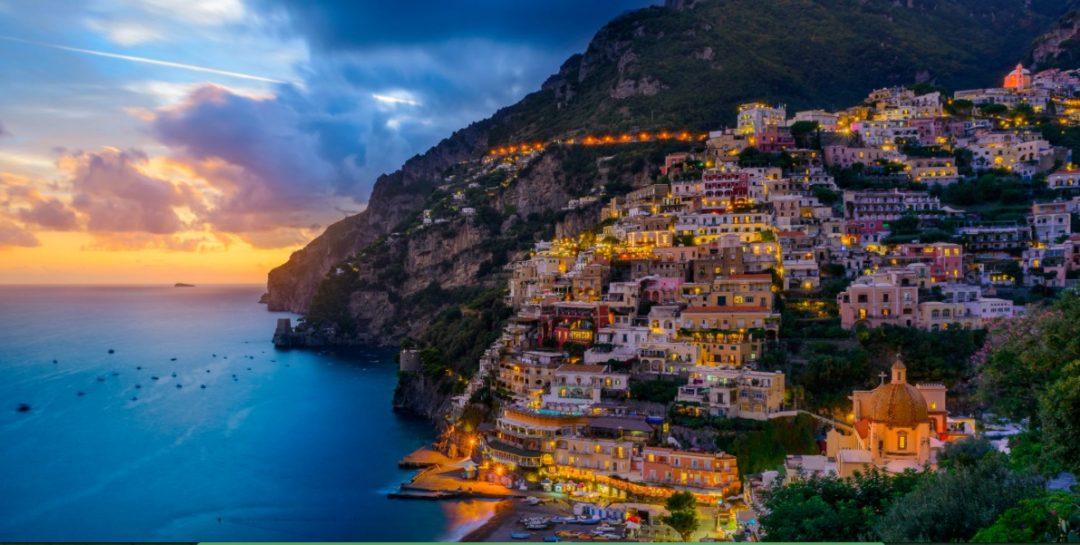 cidades no sul da Itália