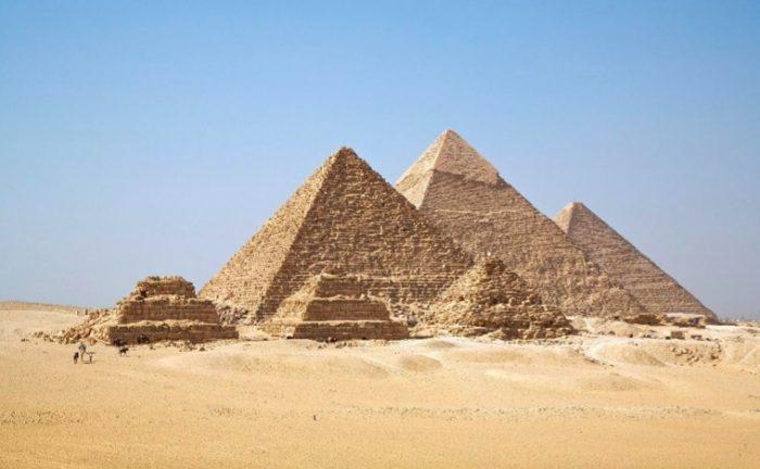 10 lugares para conhecer antes de morrer pirâmides de Gizé