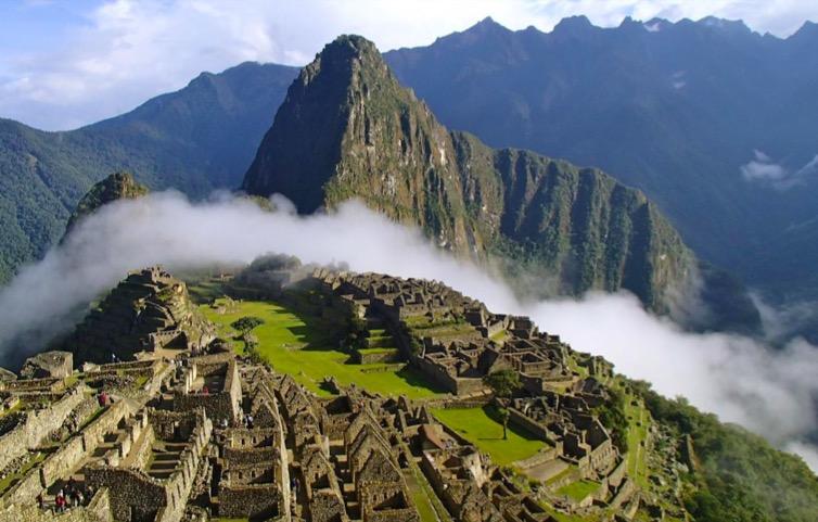 10 lugares para conhecer antes de morrer Machu Picchu