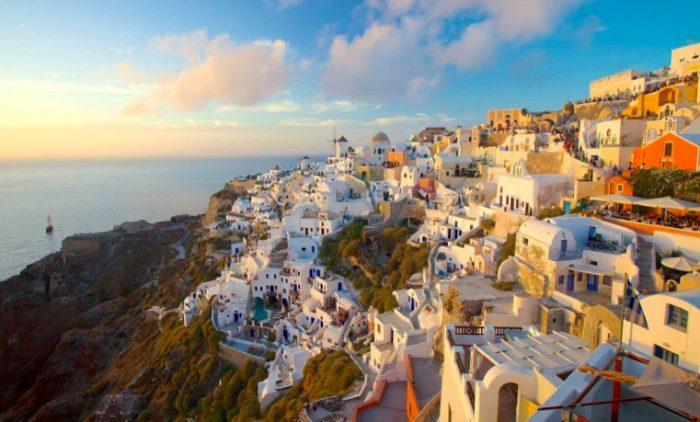 10 lugares para conhecer antes de morrer Santorini